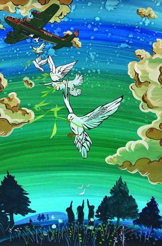 신승준 - 평화의 마음을 비둘기에 담아